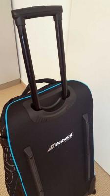 TennisTraveller-Travelbagtest-Babolat-Tasche-Teleskopgriff