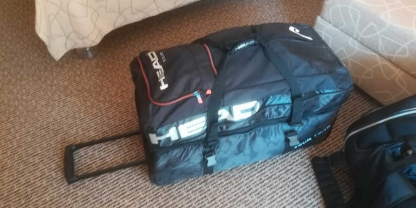 TennisTraveller Christian testet die HEAD Team Travelbag